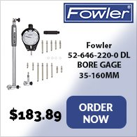 Fowler micrometer stand