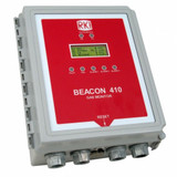 RKI Beacon 410 Four Channel Fixed System Gas Detection Controller