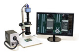 Aven 26700-102-20 Micro Video Inspection System w/HD Color Camera, Built in M...