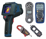 REED Instruments REED-ELECTRICAL-KIT THERMAL IMAGER/MULTIMETER/MULTI-FUNCTION METER COMBO KIT