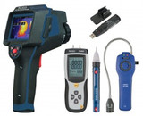 REED Instruments REED-HVAC-KIT THERMAL IMAGER/MANOMETER/GAS DETECTOR/DATALOGGER COMBO KIT
