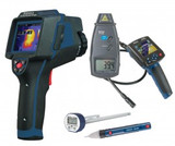 REED Instruments REED-MECHANICAL-KIT THERMAL IMAGER/BORESCOPE/TACHOMETER/THERMOMETER COMBO KIT