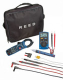 REED Instruments ST-ELECTRICKIT CLAMP METER/MULTIMETER/VOLTAGE TESTER COMBO KIT