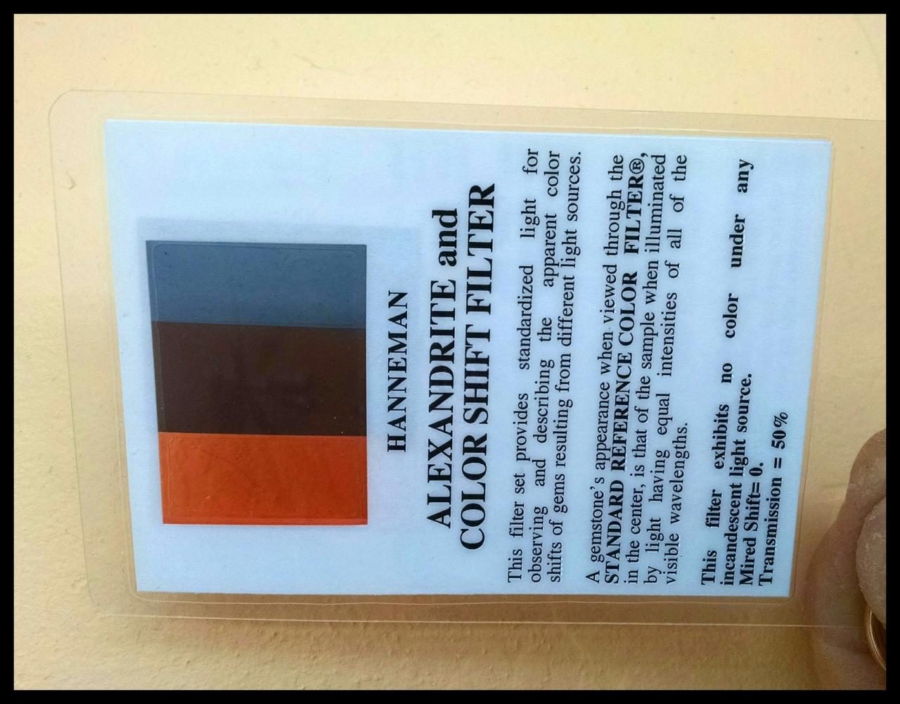 Alexandrite & Color Shift Filter