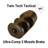 Ultra-Comp 2 AR15 Compensator (Black)