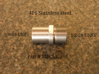 M&P Comp 22 1/2-28 Stainless Steel Standard Adapter