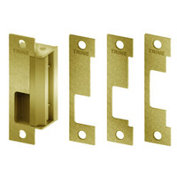 4100RS-US4 Trine Access Technology 4100 Series Fail Safe Cylindrical and Mortise Lock Electric Strike in Satin Brass