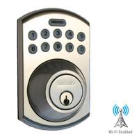 LS-DB5i-SN-B Lockstate Remote Lock Wi-Fi Keypad Deadbolt in Satin Nickel