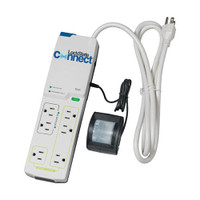 LS-P100M LockState Connect Wi-Fi Multi-Outlet Power Strip W/ Motion Detector