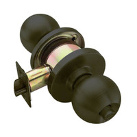 W301S-H-613 Falcon W Series Cylindrical Privacy Lock with Hana Knob Style in Oil Rubbed Bronze Finish