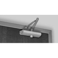1681-689 Norton 1600 Series Non Hold Open Adjustable Door Closer with Regular Low Profile Arm in Aluminum Finish