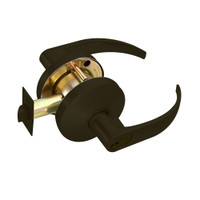 B611GD-Q-613 Falcon B Series Single Cylinder Dormitory/Corridor Lock with Quantum Lever Style in Oil Rubbed Bronze Finish