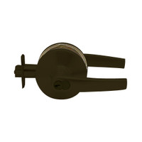 K571GD-A-613 Falcon K Series Single Cylinder Dormitory/Corridor Lock with Avalon Lever Style in Oil Rubbed Bronze Finish