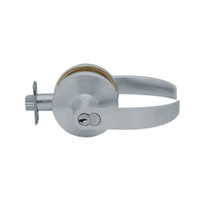 K581GD-Q-626 Falcon K Series Single Cylinder Storeroom Lock with Quantum Lever Style in Satin Chrome Finish