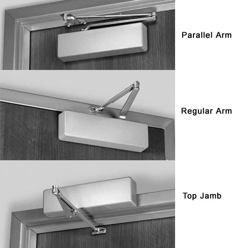7500hm689 norton series hold open door closer with regular parallel or top jamb to 3 inch reveal in aluminum