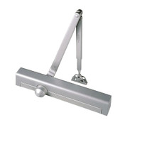 S8301DA-689 Norton 8000 Series Non-Hold Open Door Closers with Regular Arm Application in Aluminum Finish