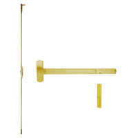CD25-C-NL-US3-2 Falcon Exit Device in Polished Brass