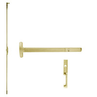 CD24-C-NL-US4-2-LHR Falcon Exit Device in Satin Brass