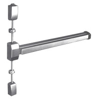 12-2727F-EN Sargent 20 Series Reversible Fire Rated Vertical Rod Exit Device in Sprayed Aluminum