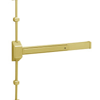 3727G-EAB Sargent 30 Series Reversible Vertical Rod Exit Device in Brass