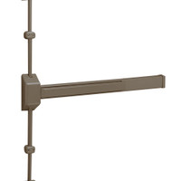 12-3727F-EB Sargent 30 Series Reversible Fire Rated Vertical Rod Exit Device in Sprayed Bronze