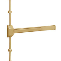 12-3727G-EP Sargent 30 Series Reversible Fire Rated Vertical Rod Exit Device in Sprayed Satin Bronze