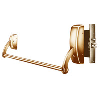 12-9910-LHR-10 Sargent 90 Series Exit Only Fire Rated Mortise Lock Exit Device in Satin Bronze