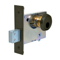 LC-4875-10B Sargent 4870 Series Single Cylinder Mortise Deadlock with Turn Lever Less Cylinder in Oil Rubbed Bronze