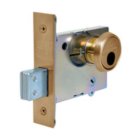 LC-4876-10 Sargent 4870 Series Single Cylinder Mortise Deadlock Less Cylinder in Satin Bronze