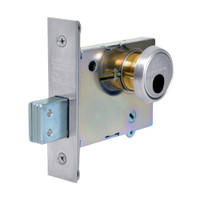 LC-4876-26 Sargent 4870 Series Single Cylinder Mortise Deadlock Less Cylinder in Bright Chrome