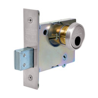 LC-4876-32 Sargent 4870 Series Single Cylinder Mortise Deadlock Less Cylinder in Bright Stainless Steel