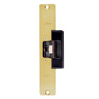 1608S-US3 DynaLock 1600 Series Electric Strike for Standard Profile in Bright Brass