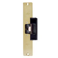 1608L-US4 DynaLock 1600 Series Electric Strike for Low Profile in Satin Brass