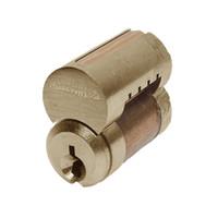 8000-7-L4-606 Corbin 8000 Series 7 Pin Interchangeable Core in Satin Brass Finish