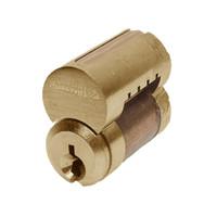 8000-7-L4-605 Corbin 8000 Series 7 Pin Interchangeable Core in Bright Brass Finish
