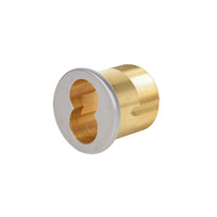 1070-112-A01-6-626 Corbin Mortise Interchangeable Core Housing with Cloverleaf Cam in Satin Chrome Finish