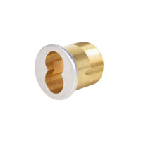CR1070-138-A02-6-625 Corbin Mortise Interchangeable Core Housing with Straight Cam in Bright Chrome Finish