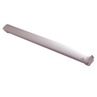 6451-48-TSB-US28 DynaLock 6451 Series Exit Sensor Bar for 48 inch Door with Securitron TSB Mounting Pads in Satin Aluminum