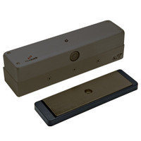 3006-ATS-US10B DynaLock 3006 Series 1500 LBs Single Outswing Free Egress Electromagnetic Lock with ATS in Oil Rubbed Bronze