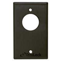 7023-US10B-LED DynaLock 7000 Series Keyswitches Maintained 2 Double Pole Double Throw with Bi-Color LED in Oil Rubbed Bronze
