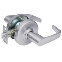 CL3810-NZD-626 Corbin CL3800 Series Standard-Duty Passage Cylindrical Locksets with Newport Lever in Satin Chrome Finish