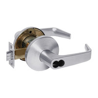 9K37W15LS3626 Best 9K Series Institutional Cylindrical Lever Locks with Contour Angle with Return Lever Design Accept 7 Pin Best Core in Satin Chrome