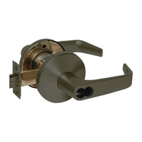 9K37W15LS3613 Best 9K Series Institutional Cylindrical Lever Locks with Contour Angle with Return Lever Design Accept 7 Pin Best Core in Oil Rubbed Bronze