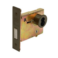 DL4122-613-CL6 Corbin DL4100 Series IC 6-Pin Less Core Mortise Deadlocks with Double Cylinder w/ Thumbturn in Oil Rubbed Bronze Finish