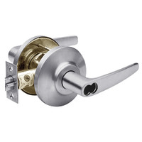 7KC37AB16DSTK626 Best 7KC Series Entrance Medium Duty Cylindrical Lever Locks with Curved Without Return Lever Design in Satin Chrome
