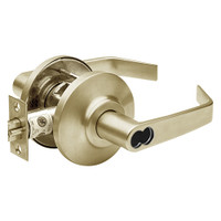7KC37AB15DSTK606 Best 7KC Series Entrance Medium Duty Cylindrical Lever Locks with Contour Angle Return Design in Satin Brass
