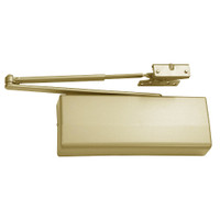 DC8210-A12-696-W33 Corbin DC8000 Series Parallel Unitrol Arm Heavy Duty Door Closers with Hold Open in Satin Brass Finish