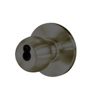 8K37W4AS3613 Best 8K Series Institutional Heavy Duty Cylindrical Knob Locks with Round Style in Oil Rubbed Bronze