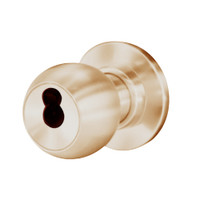 8K37W4CS3612 Best 8K Series Institutional Heavy Duty Cylindrical Knob Locks with Round Style in Satin Bronze