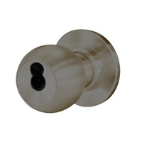 8K37W4CS3613 Best 8K Series Institutional Heavy Duty Cylindrical Knob Locks with Round Style in Oil Rubbed Bronze